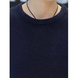 Crew Neck Cable Knit Jumper -
