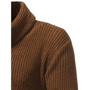 Cowl Neck Drawstring Pullover Sweater -