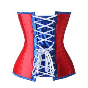 Patriotic American Flag Corset Top -