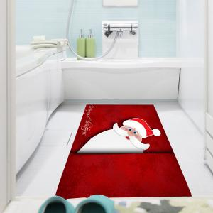 Removable Santa Claus Patterned Multifunction Wall Art Painting -