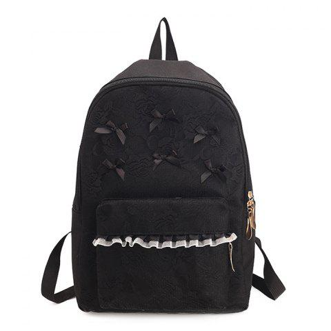 Store Ribbon Lace Bow Backpack