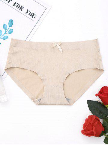 Shops Seamless Middle Waist Panties COMPLEXION M