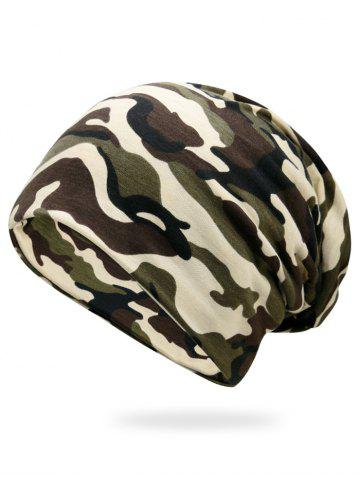 Affordable Outdoor Camo Pattern Lightweight Beanie - CAMOUFLAGE  Mobile