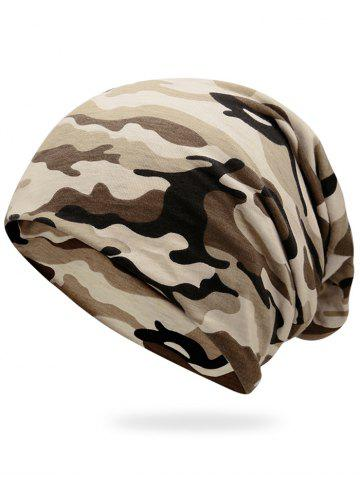 Online Outdoor Camo Pattern Lightweight Beanie
