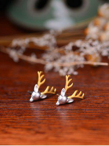 Sale Reindeer Christmas Stud Tiny Earrings