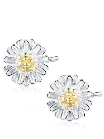 Best Tiny Flower Sterling Silver Stud Earrings