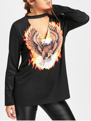 Buy Eagle Choker Neck Top
