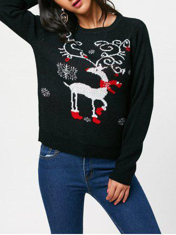 Outfit Christmas Reindeer Pullover Sweater
