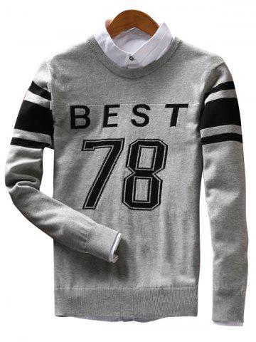 Unique Best 78 Pattern Crew Neck Sweater