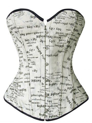 New Printed Corset Top