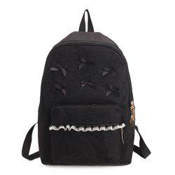 Ribbon Lace Bow Backpack -