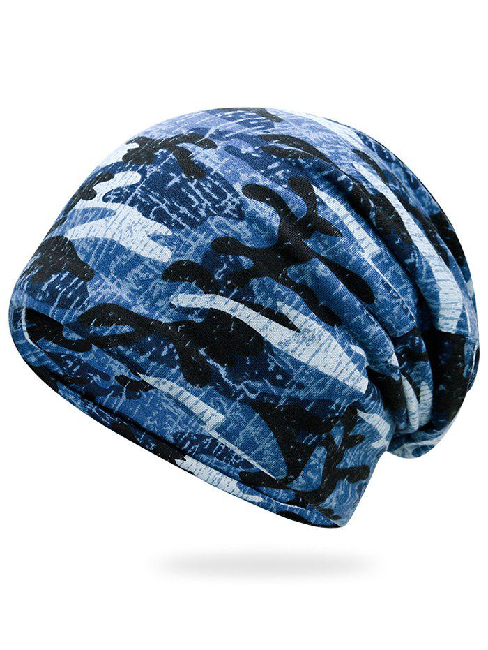 Outdoor Camo Pattern Lightweight BeanieACCESSORIES<br><br>Color: MARINE CAMOUFLAGE; Hat Type: Skullies Beanie; Group: Adult; Gender: For Men; Style: Fashion; Pattern Type: Camouflage; Material: Polyester; Circumference (CM): 57CM; Weight: 0.1500kg; Package Contents: 1 x Hat;