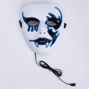 Masque Halloween Effrante Cosplay EL Fil Brillant -