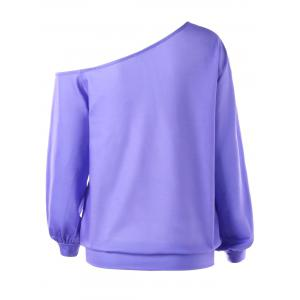 Chemise Pull Pullover - Pourpre 5XL