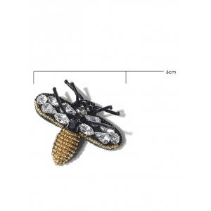 Broche en acrylique en strass Bee Brooch -