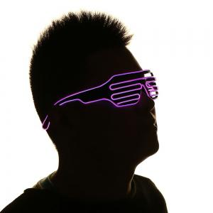 LED Flashing Shutter Party Glasses -