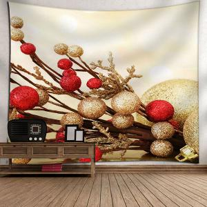 Wall Art Christmas Printed Tapestry - LIGHT YELLOW W79 INCH * L59 INCH