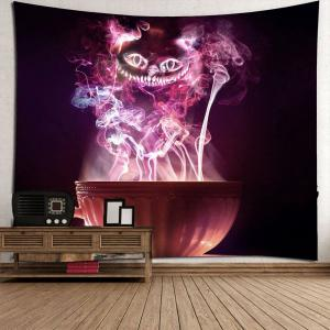 Halloween Cup Goblins Waterproof Hanging Tapestry - COLORFUL W79 INCH * L79 INCH