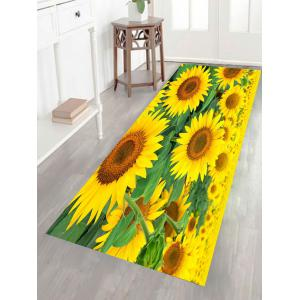 Multifunction Sunflowers Patterned Removable Wall Art Painting - YELLOW 1PC:24*35 INCH( NO FRAME )
