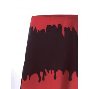Halloween Blood Drenched A-line Skirt -