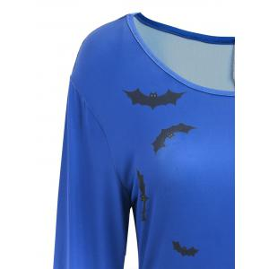 Robe de Halloween Swing - Bleu L