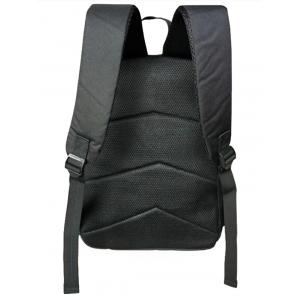 Zip Skull Backpack - BLACK WHITE