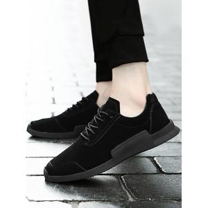 Round Toe Lace Up Sneakers -