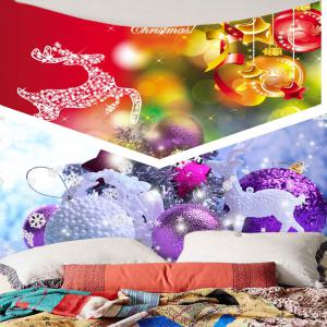 Wall Hanging Christmas Gift Ball Pattern Tapestry -