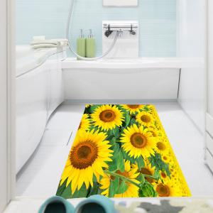 Multifunction Sunflowers Patterned Removable Wall Art Painting -