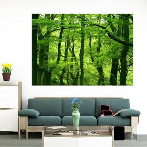 Multifunction Fresh Forest Waterproof Stick-on Wall Art Painting -