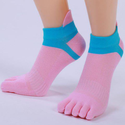 Buy Five Toe Fingers Cotton Blend Ankle Socks