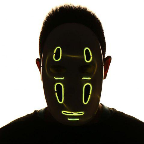 Shops Halloween EL Wire LED Luminous Cosplay Weird Mask
