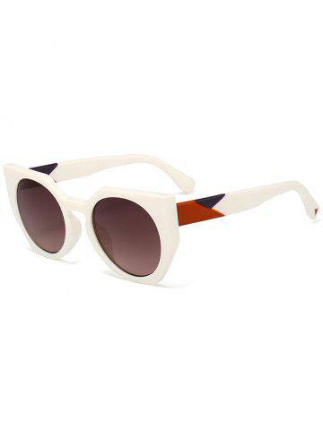 Shops UV Protection Full Frame Design Butterfly Sunglasses TEA-COLORED