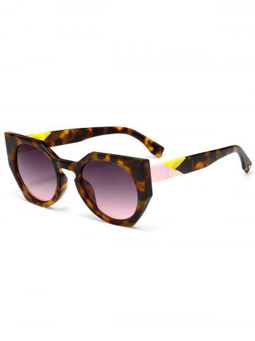 Fashion UV Protection Full Frame Design Butterfly Sunglasses BROWN