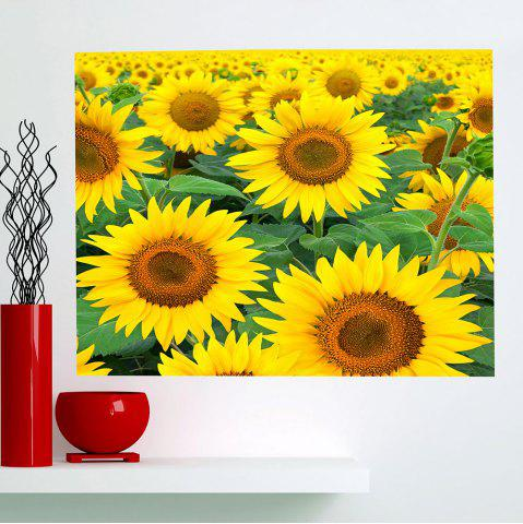 Latest Multifunction Sunflowers Patterned Removable Wall Art Painting