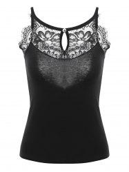 Lace Cyyash Sheis Camisole - Noir TAILLE MOYENNE