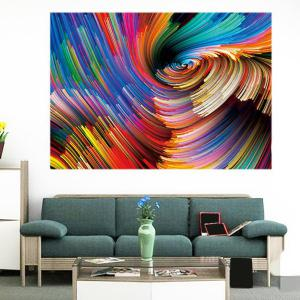 Colorful Space Patterned Multifunction Removable Wall Art Painting - COLORFUL 1PC:24*35 INCH( NO FRAME )