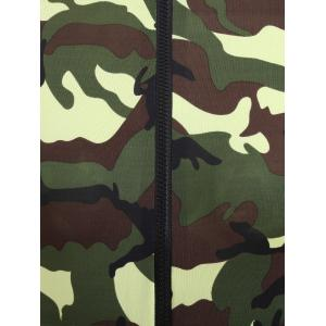 Camouflage Long Sleeve Soldier Costume - ACU CAMOUFLAGE XL