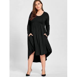 Empire Waist Black Dresses