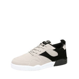 Color Block Faux Suede Sneakers - Noir 40