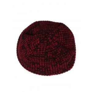 Double-Deck Thicken Knit Hat -