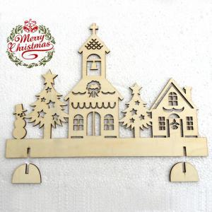 DIY Christmas Decorations Wooden Tree House -