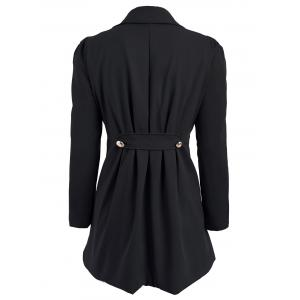 Double Breasted Swing Trench Coat -