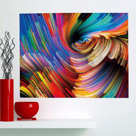 Latest Colorful Space Patterned Multifunction Removable Wall Art Painting COLORFUL 1PC:24*35 INCH( NO FRAME )