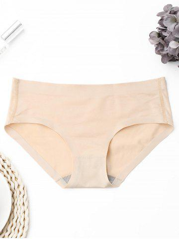 Latest Seamless Mid Rise Panties - ONE SIZE SKIN COLOR Mobile