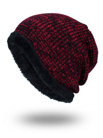Fancy Double-Deck Thicken Knit Hat