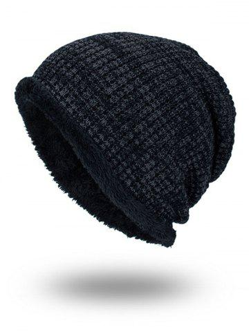 Online Double-Deck Thicken Knit Hat