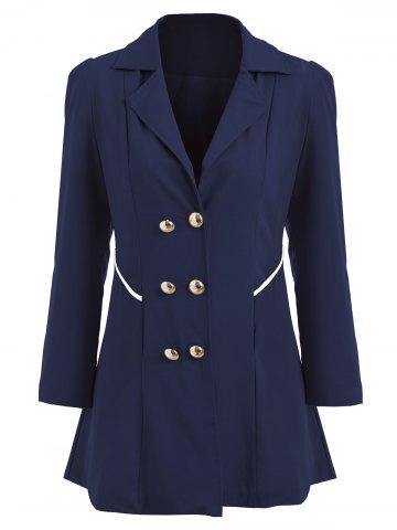 Store Double Breasted Swing Trench Coat