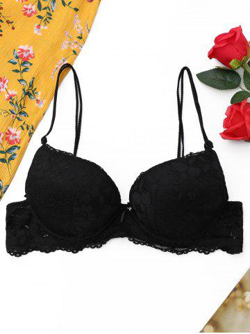 Push Up Lace Dual Strap Bra