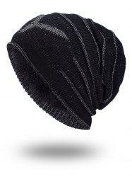 Double-Deck NY Thicken Knit Hat -